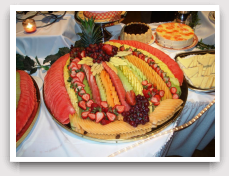 Fruit Platters Wedding