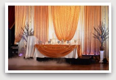 Exotic Head Table